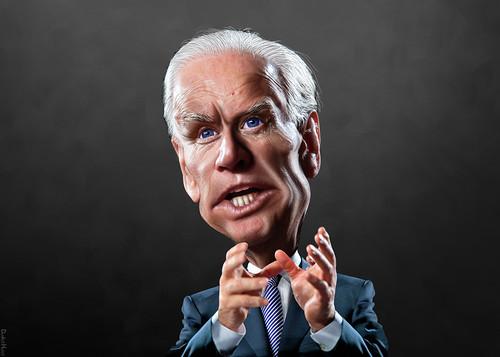 Joe Biden - Caricature by DonkeyHotey, on Flickr