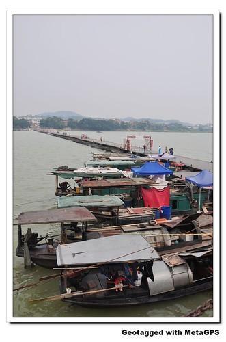 赣州 浮桥