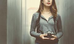 * (Marga Corameta) Tags: camera minolta selfportrait lips germany berlin travel