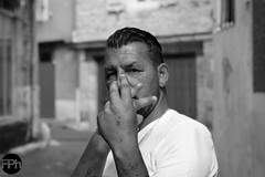 The street fighter (Frankhuizen Photography) Tags: thestreetfighter souillac france 2016 straat vechter zwart wit zw black white bw street fotografie photography monochrome