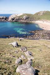 Sheigra Bay (Teuchter Prof) Tags: sheigra sheigrabay sheigrabeach beach sandybeach sand turquoisewater westcoast sutherland kinlochbervie northwestscotland scotland