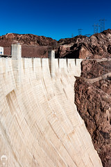 Six Point Six Million Tons of Damn Concrete (Prozac74) Tags: canonef1635mmf28liiusm canoneos5ds hooverdam usa2016 concrete fullsize huge massive polarizationfilter