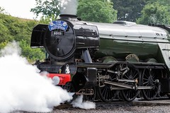 Exhaust. (Echo Charlie Three Zero) Tags: nrmshildon steamengines steam locomotives nikond600 60103 theflyingscotsman
