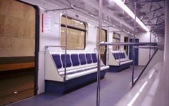 Empty (Shtani v Getri) Tags: leica mini zoom subway metro moscow train agfa color 100 iso compact camera film shoot non stop night life style