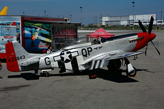 NL10601 (Commemorat. Air Force) (Steelhead 2010) Tags: northamerican p51 mustang commemorativeairforce tuskegee yhm nreg nl10601 cwhm