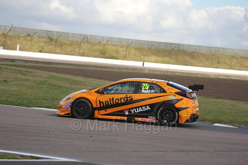 Matt Neal at Rockingham, 2016