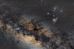 Via Lctea (Wellerson Lopes) Tags: milkway galaxy vialactea galaxia astrophotography astrofotografia space espao cosmos