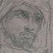 CHASSERIAU Théodore,1846 - Arabe debout, retenant un pli de son Burnous (drawing, dessin, disegno-Louvre RF24411) - Detail 14