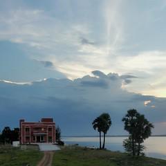 East Coast Road (ossington) Tags: sunset tamilnadu pondicherry india driving