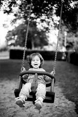 Happy Childhood (New Version, thanks to Sue H) (kahlgrund1978) Tags: blackandwhite ausflug kleinwallstadt main marleen spaziergang