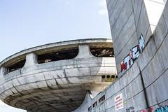 BUZLUDZHA-42 (RAFFI YOUREDJIAN PHOTOGRAPHY) Tags: buzludzha bulgaria spaceship soviet architecture ruin graffiti communist derelict abandoned relic distasteful building monument