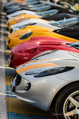 I see a line of cars and they are not all painted black (Raph/D) Tags: lotuses club lotus france elise exige english car cars sportscar british colin chapman light is right canon eos 7d mark ii line le mans classic 2016 lmc lm sarthe endurance canoneos7dmarkii 70200mm ef70200mmf28lusm l series lseries catchy colors bokeh dof motorsport event auto automobile motor twin combo
