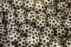 Soccer Ball Foils (Read2me) Tags: pree she cye food candy many black white round ball circle shallowdof ge thechallengefactory tcfunanimousoctober