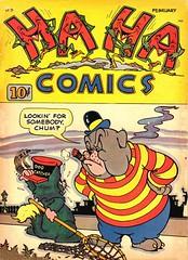 Ha Ha 5 (Michael Vance1) Tags: comics comicbooks cartoonist art artist anthology fantasy funnyanimals funnyanimal humor goldenage
