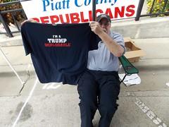 I'm a Trump Deplorable! (raycarlos1) Tags: 2016 trump president campaign montcello illinois donaldtrump monticellobration sullivanparkhill champaign deplorable tshirt piatt piattcounty republican gop election pence mikepence