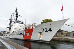 USCGC Munro (Northwest dad) Tags: nikon d800 1424mm f28 uscgc munro united states coast guard cutter douglas ballard locks seattle whec 724 ship 378 feet hiram m chittenden