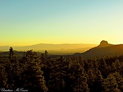 Thumb Mountain sunrise (christianhon268) Tags: outdoor sunset sky mountains mountain trees forest land sun photography professional photo canon power shotsx 400is