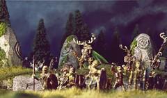 Cauldron Born (torq42) Tags: celtic 28mm wargame tabletop myth fantasy undead arawn hornedgod