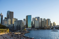sydney cityscape (Greg Rohan) Tags: offices skyscrapers skyscraper highrises lateafternoon skyline 2016 d7200 photography cityscape sydneycityscape sydneycity sydney