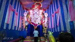Nikadwari Lane Sarvajanik Ganeshotsav Mandal ( ) (Salil S.Naik) Tags: ganesh ganapati ganeshotsav 2016 sony a6000 alpha idol selp1650 sel55210 girgaum