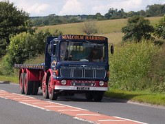 VBY 45E  1967  Leyland Octopus  Malcolm Harrison  A658 North Rigton (wheelsnwings2007/Mike) Tags: road harrison malcolm north run 1967 octopus birch trans harrogate pennine services 2012 leyland vby 45e rigton a658