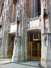 Tribune doors