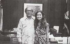 Gov. Ricardo Bordallo and Deborah
