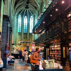 The high church of the book, Maastricht (FlickrDelusions) Tags: square squareformat bookshop boekwinkel entredeux selexyz iphoneography instagramapp uploaded:by=instagram selexyzdomenicanen