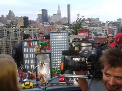 2012-08-25 19.17.43 (pikaman206) Tags: new york boss black cake cat comics cosplay anniversary spiderman midtown xmen marvel 50th avengers deadpool