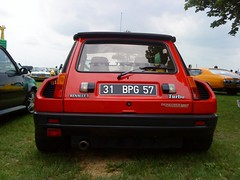 Renault 5 Turbo (kity54) Tags: auto old france classic cars car french automobile francaise 5 voiture renault turbo coche older francais ancienne ancien sportive vhicule worldcars lacdemadinertromeuse2010