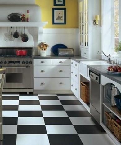 piso vinyl cocina