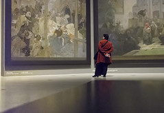 "Mucha's ""Slav Epic"" III (tantonr) Tags: art prague artmuseum tomaskubik"