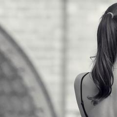 Esmeralda ~ Notre Dame de Paris ~ MjYj (2010) (MjYj ~ IamJ) Tags: light urban woman white paris art love silhouette night french pretty solitude noir time noiretblanc femme notredame romantic eden notre dame temps tones ville tendre passant esmeralda encounters espoir mjyj mjyj©