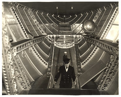 Photograph of the Rear Control Car of a Dirigible, ca. 1933 (The U.S. National Archives) Tags: aircraft aviation zeppelin airship sailor usnavy usn goodyear dirigible lighterthanair navalaviation unitedstatesnavy goodyearzeppelin ussakron usnationalarchives zrs4 ussakronzrs4 nara:arcid=6708577 goodyearzeppelincorporation
