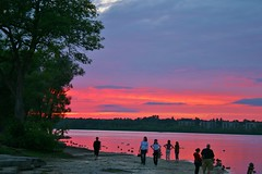 Sunset Splendor On The River (bigbrowneyez) Tags: pink blue sunset sky ontario canada beautiful silhouette river spectacular purple dusk gorgeous ottawa rich dreamy breathtaking eyecandy paintedsky unbelievable amazingsky remicrapids rememberthatmomentlevel1 flickstunner sunsetsplendorontheriver