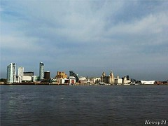 Liverpool Waterfront (kev thomas21) Tags: england water liverpool river waves ship waterfront view estuary shipping soe landingstage liverbuilding 3graces