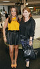Emily O'Donnell and Natasha Sherling at the launch of the Marks & Spencer Autumn Winter Collection in the Rooftop Restaurant in M&S on Grafton St