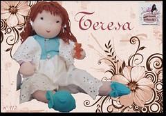 Teresa - 112 - (Luciana Dollsmaker) Tags: doll arte bambini rag serie ragdoll bambole gioco giocattoli hobbie stoffe artigianato cucito infanzia bamboledipezza bamboline hobbistica lavorifattiamano lucianadollsmaker