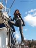 Black beauty[108] (mixnuts club) Tags: fetish trapped gun bondage rubber spy diver wetsuits secretagent frogwoman