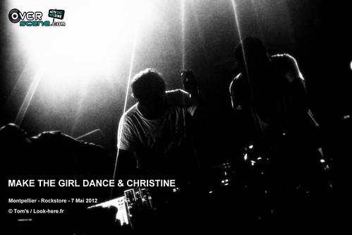 MAKE THE GIRL DANCE & CHRISTINE @ Rockstore - Montpellier - 3LOGO