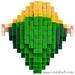 Pixel Art 3D Fimo 05