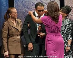 Muhammad Ali Awarded 2012 Liberty Medal in Philly (9/13/12) (Talk Radio News Service) Tags: muhammadali nationalconstitutioncenter libertymedal photosbyrogerbarone lonnieali