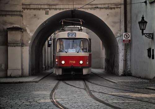Prag_Alte_Straßenbahn