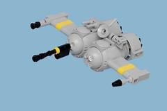 Strahl Nadelstich (pasukaru76) Tags: airplane robot lego mak antitank moc autonomous canon100mm maktember