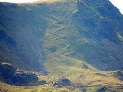 Zig-Zag Path up Cader Idris (Close-Up)