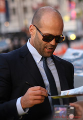 Jason Statham at the Expendables 2 Premiere in Hollywood. (gerrychucky) Tags: red 2 jason carpet los sylvester angeles bruce arnold schwarzenegger hollywood premiere willis gerry stallone statham expendables villaroman