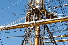 TALL SHIPS RACE 2012 CADIZ (bacasr) Tags: sea espaa mar spain barcos ships cdiz masts tallships palos vergas buques amerigovespucci trinquete grandesveleros jarcia regatadelbicentenario
