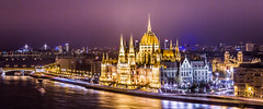 Budapest Cityscape (Beum Gallery) Tags: longexposure architecture night river europe hungary cityscape nightshot budapest style parliament nightview parlement magyar nuit danube fleuve magyarorszg gothicrevival hongrie  photographiedenuit gothicrevivalstyle nogothique  stylearchitectural           beumphotography