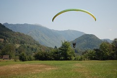 Landing_1 (Tim Meyer Paragliding Photography) Tags: slovenia axis tolmin soca kobala gabrje