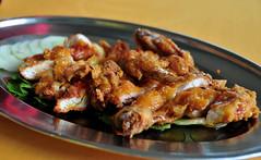 Deep fried chicken leg... (Rosanna Leung) Tags: food chicken malaysia seafood    malaysiancuisine malaycuisine   deepfriedchickenleg